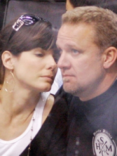 Sandra Bullock and her husband, Jesse James