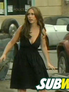 jennifer love hewitt subway