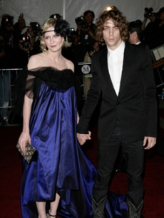 Kirsten Dunst and boyfried Johnny Borrell