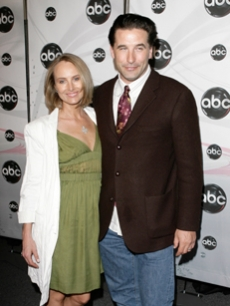 Baldwin, Stephen - Chynna Phillips ABC UPFRONTS NY 5 15 '07 AP 1