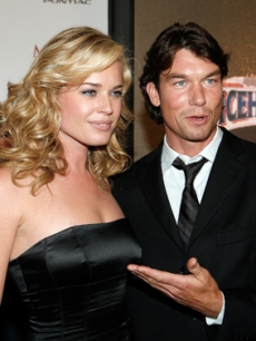 Hot Couple Rebecca Romijn and Jerry O'Connell at Maxim