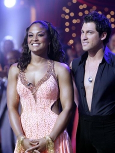 Laila Ali looked stunning throughout the competition... including the finale