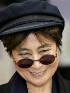 In Liverpool Yoko announced a John Lennon Foundation