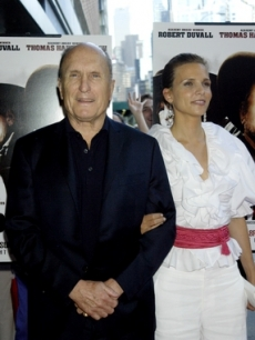Best Actor Mini-Series/TV Movie nominee Robert Duvall, 'Broken Trail'