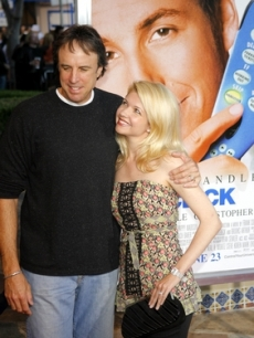 Kevin Nealon and wife Susan Yeagley pose for the press
