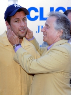 Adam Sandler and Henry Winkler look good in yellow