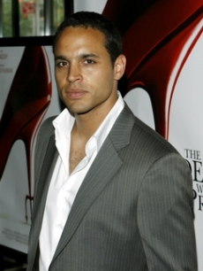 Daniel Sunjata looks sexy for the cameras