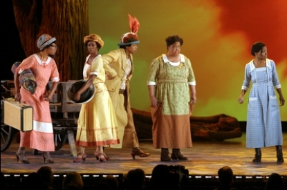 The Color Purple Cast TONY AWARDS 6 11 06 AP