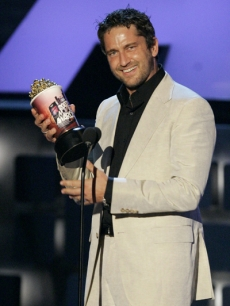 Gerard Butler The 300, MTV Movie Awards 07 AP