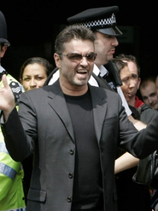 George Michael was sentenced on his DUI in London