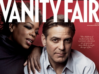 20 issues of Vanity Fair highlighting those helping Africa