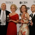 Big Winners: F. Langella, C. Ebersole, J. White & D. Hyde Pierce