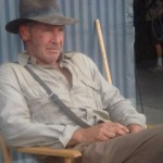 Harrison Ford dons the Indiana Jones hat once again!