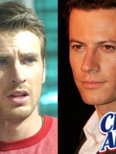 Guy Candy: Chris Evans and Ioan Gruffudd