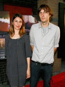 Sofia Coppola and bf, Thomas Mars, arrive for the film premiere