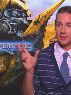 Shia LaBeouf talks 'Transformers' with Access