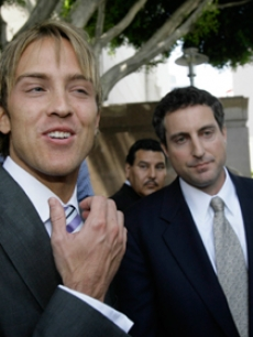Larry Birkhead and Howard K. Stern reunite outside court in LA