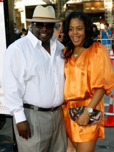Cedric the Entertainer & Lorna Kyles together on the red carpet