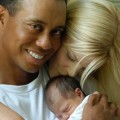 Tiger Woods, wife Elin Nordegren & new baby