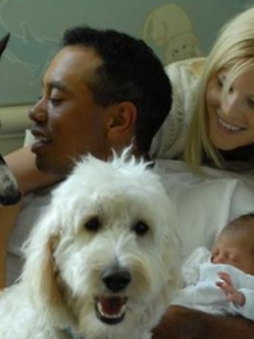 Tiger Woods new family!
