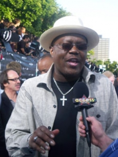 Bernie Mac hits the premiere