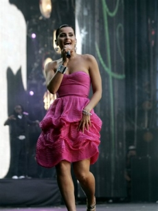 Nelly Furtado Concert For Diana AP