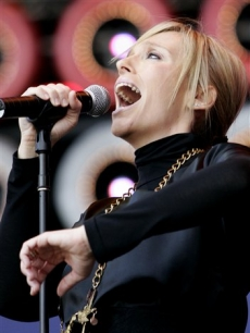 Toni Collette Live Earth Sydney