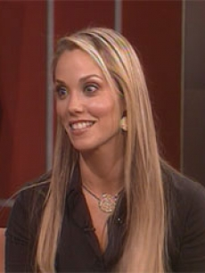 Elizabeth Berkley talks with Access Hollywood about helping young women
