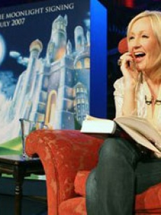 J.K. Rowling discusses the final Harry Potter novel