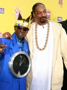 Flavor Flav with Snoop Dogg at his Comedy Central Roast