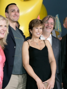 Azaria, Hank - Nancy Cartwright - Yeardley Smith - Matt Groening - Dan Castellaneta - David Silverman LA 7 24 ?07 AP 1