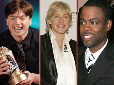 It's a gallery of some of the funniest comedians around!