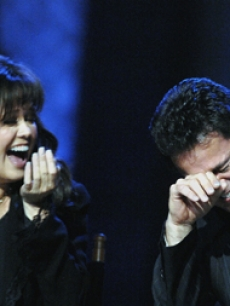 Marie & Donny Osmond at a Vegas conference for their PBS special