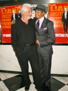 James Brolin and Terrence Howard embrace at the premiere
