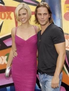 "Adrianne Palicki & Taylor Kitsch ""Friday Night Lights"" Teen's Choice Awards"