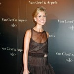 Sarah Michelle Gellar at a Van Cleef & Arpels jewelry show in NYC