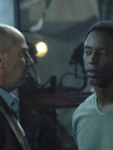 Michelle's co-star Miguel Ferrer and guest star Isaiah Washington
