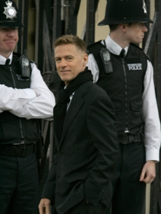 Singer Bryan Adams attends the Princess Diana anniversary ceremony