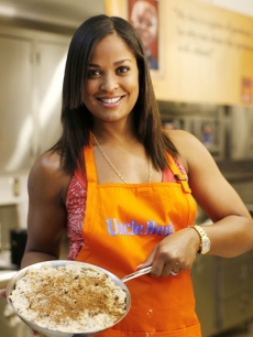 Laila Ali shows off her cooking in Pacoima