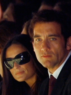 Hilary Swank, Demi Moore and Clive Owen