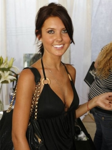 Audrina Patridge, also of 'The Hills', sports a new bag