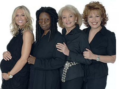 The View Whoopi promo blurb