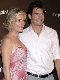Rebecca Romijn & Jerry O'Connell at the Elyse Walker Pink Party