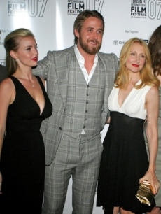 Kelli Garner, Ryan Gosling & Patricia Clarkson at the festival