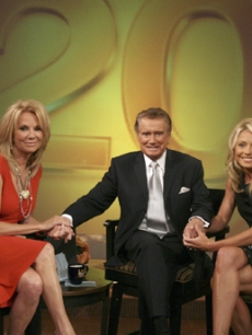 Kathie Lee Gifford re-joins Regis & Kelly for their 20th anniversary