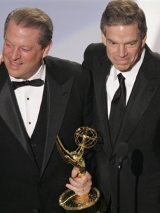 Al Gore &  Joe Hyatt win an Outstanding Interactive Emmy