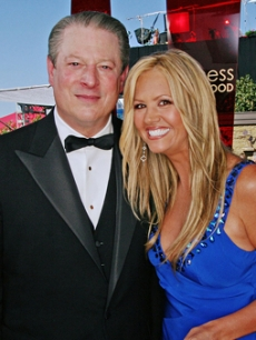 Saving the best for last: Frmr. Vice President Al Gore!