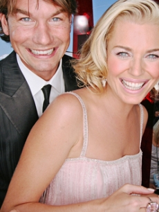 Newlyweds Jerry O'Connell & Rebecca Romijn