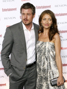Eric Dane & Rebecca Gayheart pose arm-in-arm