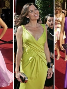 Sara Ramirez, Minnie Driver, Julia Louis-Dreyfus EMMYS RED CARPET